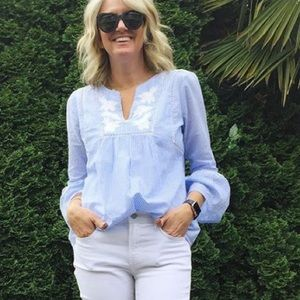 Gap Light blue Top